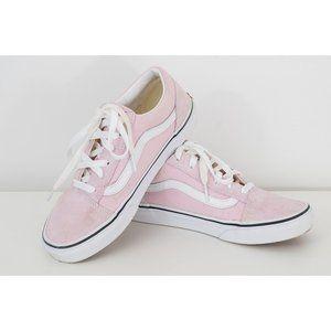 Vans Old Skool Light Pink Sneakers, Kids Size 5